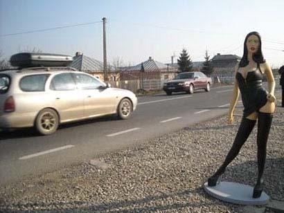 фото проституток на дороге