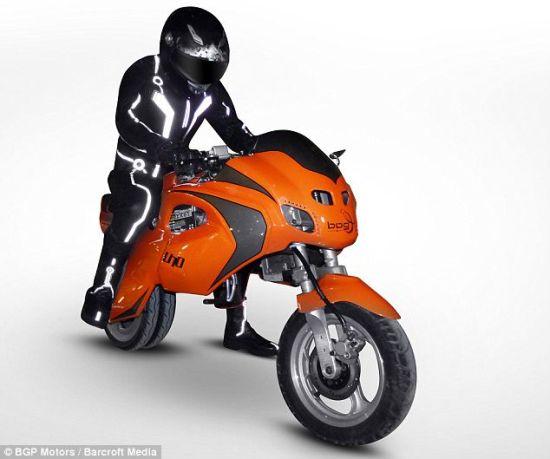 摺疊式摩托車