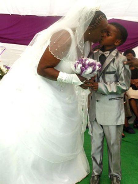 南非8歲童娶61歲嬤
